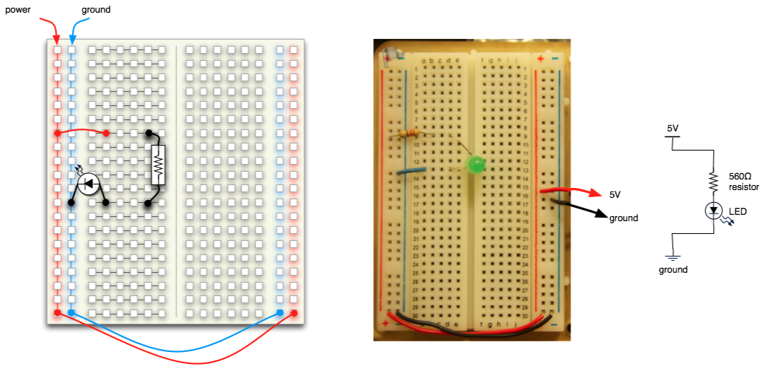 The Most Simple LED Circuit